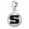 Slippery Rock Round Dangle Charm