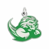 Slippery Rock The Rock Logo Charm