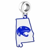 South Alabama Jaguars Logo Dangle Charm