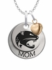 South Alabama Jaguars MOM Necklace with Heart Charm