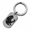 South Alabama Jaguars Stainless Steel Key Ring