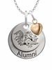 South Carolina Gamecocks Alumni Necklace with Heart Accent