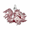 South Carolina Gamecocks Logo Charm