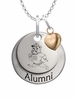 South Carolina State Bulldogs Alumni Necklace with Heart Accent