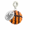 South Carolina State Bulldogs Crystal Drop Charm