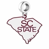South Carolina State Bulldogs Logo Dangle Charm