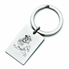 South Carolina State Bulldogs Stainless Steel Key Ring