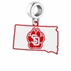 South Dakota Coyotes Logo Dangle Charm