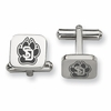 South Dakota Coyotes Stainless Steel Cufflinks