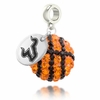 South Florida Bulls Crystal Drop Charm