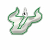 South Florida Bulls Logo Charm