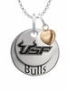 South Florida Bulls with Heart Accent