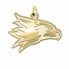 Southeast Missouri State Redhawks 14K Yellow Gold Natural Finish Cut Out Logo Charm