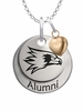 Southeast Missouri State Redhawks Alumni Necklace with Heart Accent