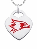 Southeast Missouri State Redhawks Color Logo Heart Charm