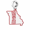 Southeast Missouri State Redhawks Logo Dangle Charm