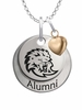 Southeastern Louisiana Lions Alumni Necklace with Heart Accent