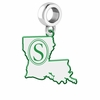 Southeastern Louisiana Lions Logo Dangle Charm