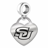Southern Engraved Heart Dangle Charm