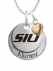 Southern Illinois Salukis Alumni Necklace with Heart Accent