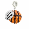 Southern Jaguars Crystal Drop Charm