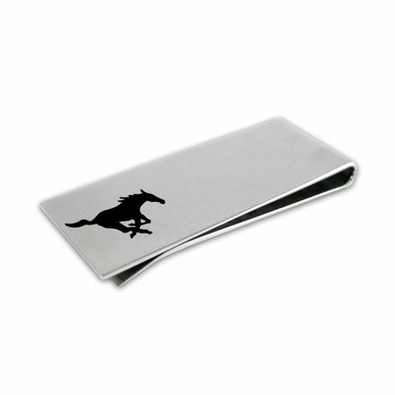 Southern Methodist Mustangs Money Clip