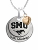 Southern Methodist Mustangs with Heart Accent