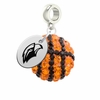 Southern Mississippi Eagles Crystal Drop Charm