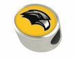 Southern Mississippi Golden Eagles Enamel Bead