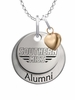 Southern Mississippi Golden Eagles Alumni Necklace with Heart Accent