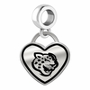 Southern University Jaguars Border Heart Dangle Charm