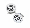 Southern University Jaguars Cufflinks Stainless Steel Round Top