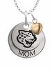 Southern University Jaguars MOM Necklace with Heart Charm