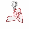 St. John's Red Storm Logo Dangle Charm