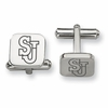 Saint John's Red Storm Stainless Steel Cufflinks