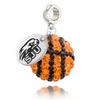 St. Josephs Crystal Drop Charm