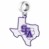 Stephen F. Austin Lumberjacks Logo Dangle Charm
