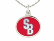 Stony Brook Seawolves Silver Charm