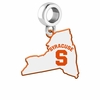 Syracuse Orange Logo Dangle Charm