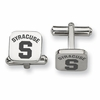Syracuse Orange Stainless Steel Cufflinks