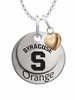 Syracuse Orange with Heart Accent