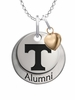 Tennessee Volunteers Alumni Necklace with Heart Accent