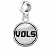 Tennessee Volunteers Border Round Dangle Charm