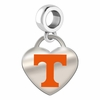 Tennessee Volunteers Color Heart Dangle