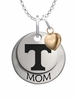 Tennessee Volunteers MOM Necklace with Heart Charm