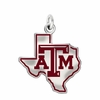 Texas A&M Aggies Logo Charm