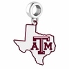 Texas A&M Aggies Logo Dangle Charm