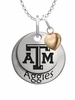 Texas A&M Aggies with Heart Accent