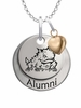 Texas Christian Horned Frogs Alumni Necklace with Heart Accent