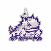 Texas Christian Horned Frogs Logo Charm